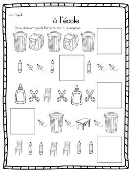 French School Supplies, Classroom  - Suites rentrée scolai