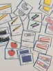 French School Supplies – les objets d'école – matching game