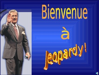 French School Unit Jeopardy Game