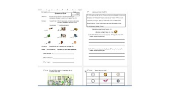 French School and Classroom Object Quizzes and Tests