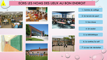 French school description, mon collège full lesson pre-intermediate