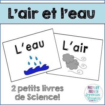 French Science Books - L'air et L'eau