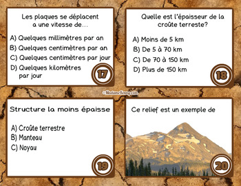 French Science Task Cards ~ Cartes à tâches