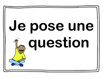 French Scientific Method/Process Anchor Cards (Primary/Junior)
