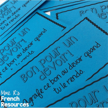 French passé composé Scoot game and task cards