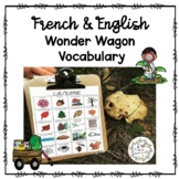 French Seasonal Clipboard Vocab (Wonder Wagon)