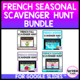 French Seasonal Scavenger Hunt Bundle