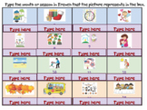 French Seasons/Months Identify (type answer)  Activity - G