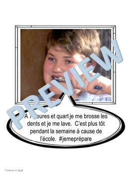 French Selfie Project Une Journée Typique