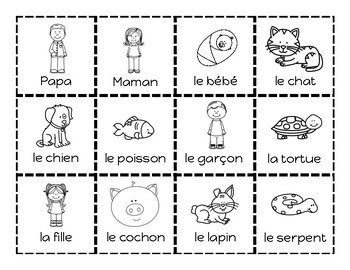 French Sentence Building Cards - Les phrases bizarres - Primary French