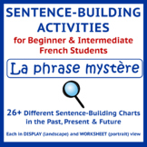 French Sentence-Building Oral Activity - La phrase mystère UPDATED