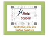 French Regular Verbs (ER, IR, RE) Sentence Formation Practice Activity