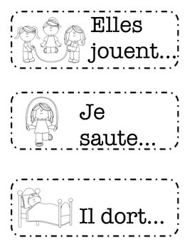 French Sentence Prompts