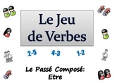 French Sentence Writing Activity : Passe Compose with Etre (ppt)