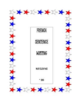 French Sentence Writing and Sentence Scrambles