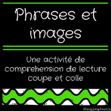 Lecture Simple - Coupe et Colle // French Sentence to Picture Matching
