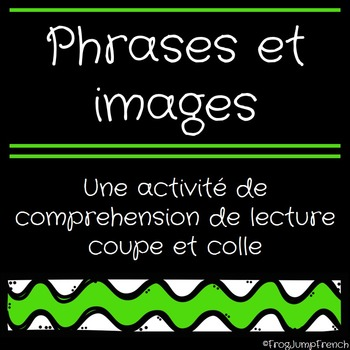 Lecture Simple - Coupe et Colle // French Sentence to Pict