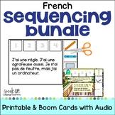 French Sequencing Bundle ~  en français + BOOM™ with Audio