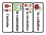 French Shape of the Day Cards