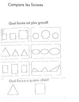 French Shapes