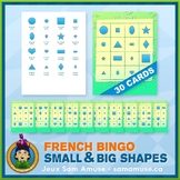 French Shapes Bingo Game • Abstract Theme
