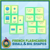 French Shapes Flash Cards • 3 styles included • Abstract Theme