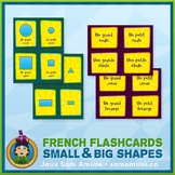French Shapes Flash Cards • 3 styles included • Circus Theme
