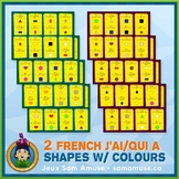 French Shapes with Colours J'ai/Qui a Games • 2 decks of c