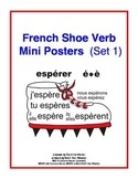 French Shoe Verb Mini Posters (Set 1)