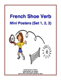 French Shoe Verb Mini Posters (Set 1, 2, 3)