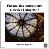French Distance Learning Friendly -Shopping in Paris, Fran