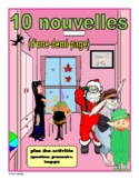 French Short Stories (10 stories + activities)