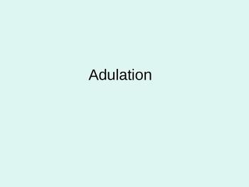 French Short Story Unit-Vocabulary Words