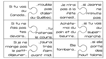 French Si Clauses (1st Group) Puzzles SET #2