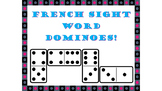 French Sight Word Dominoes