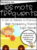 French Sight Word Games