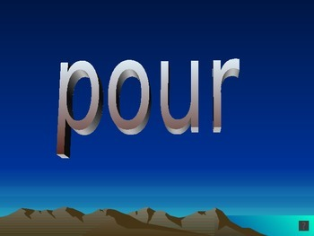 French Sight Word PowerPoint