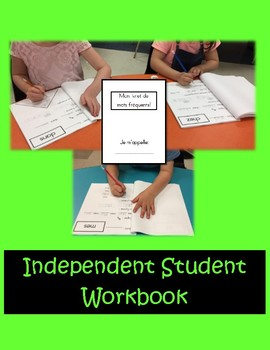 French Sight Word Workbook - Grade 1 French Immersion