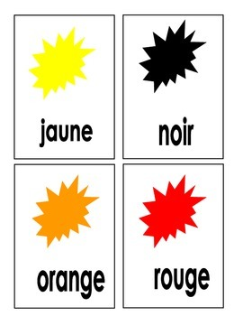 French Sight Words Flashcards