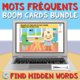French Sight Words French Boom Cards Bundle: Find Hidden W