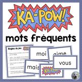 French Sight Words Game - JEU DE MOTS FRÉQUENTS