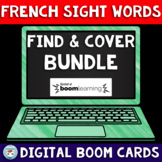 French Sight Words READ & Cover LISTEN & Cover Bundle: Fre