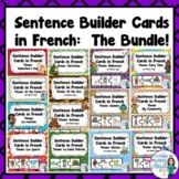 French Silly Sentence Builder Cards:  The Bundle