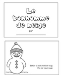 French Simple Snowman Pattern Book