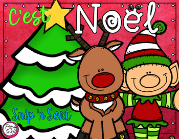 French Snip 'n Sort - C'est Noël!