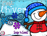 French Sorting Activity - C'est l'hiver!