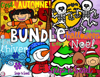 French Sorting Activity BUNDLE