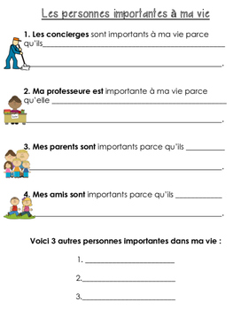 French Social Studies Bundle- Grade 1 Rules and Responsibilities Assessment