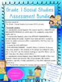 French Social Studies Bundle- Grade 1 Rules and Responsibi