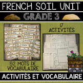 FRENCH SOIL AND ENVIRONMENT UNIT - GRADE 3 SCIENCE (LE SOL ET L'ENVIRONNEMENT)